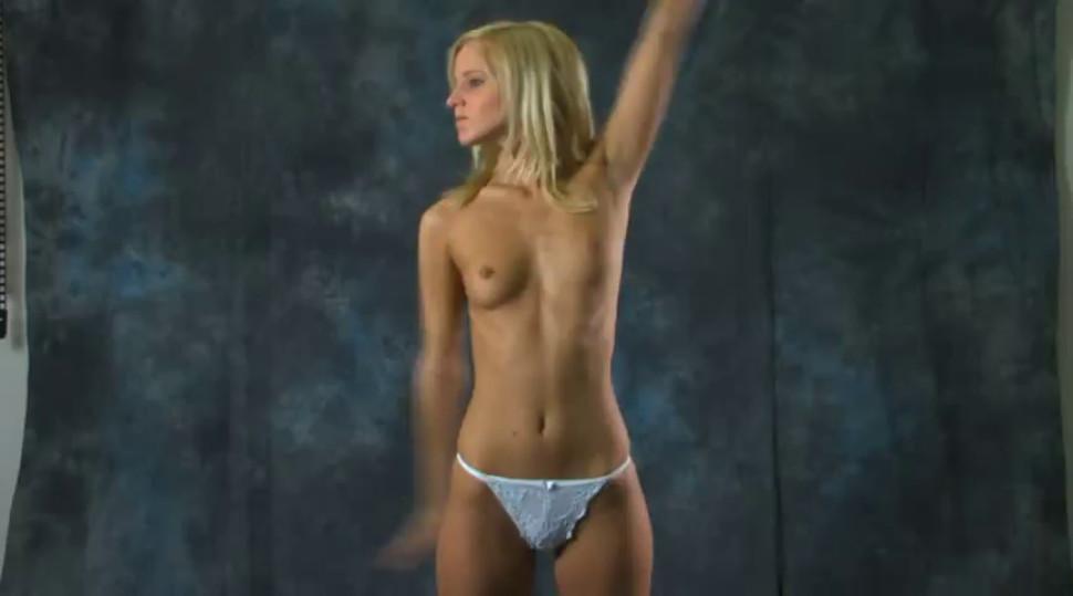 Naked gymnast 2