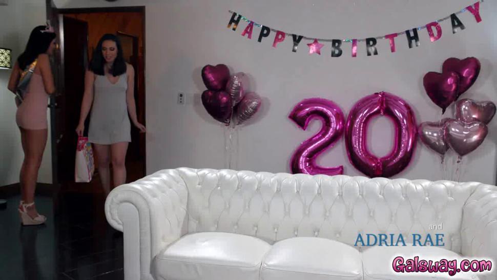 Adria Rae got the best strapon on her birthday