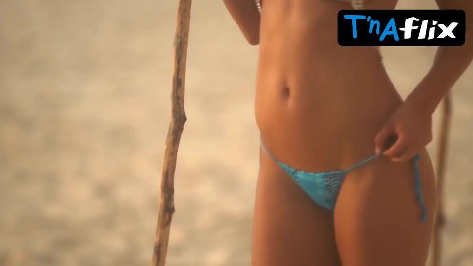 Nina Agdal Bikini Scene  in Sports Illustrated: Swimsuit 2017