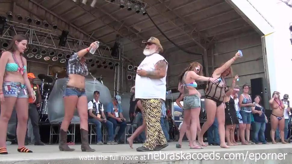 Milfy Wet Tshirt Contest At Abate Of Iowa Biker Rally