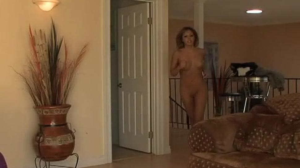 Blonde Whore Serves Two Customers At Once - Lorena Sanchez