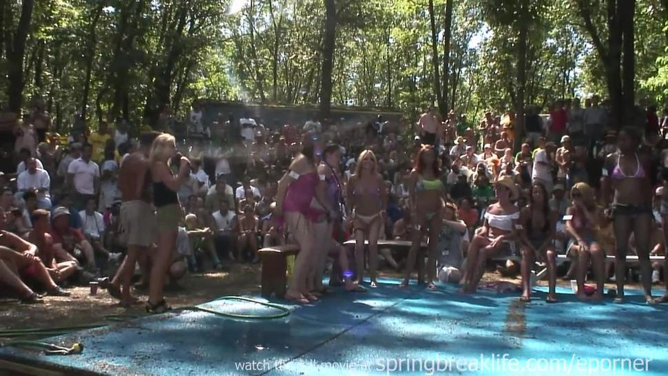 Wet Bikini Contest