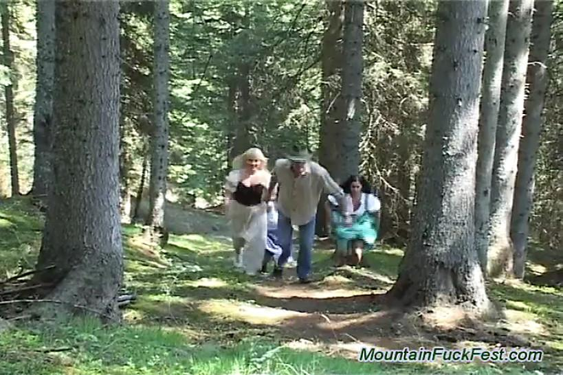 Mountain fuck fest outdoor group hard sex and oral juice - MountainFuckFest