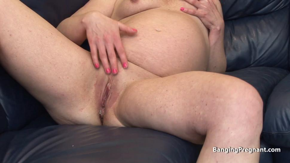 REALSEXPASS - Older pregnant women with hairless pussy
