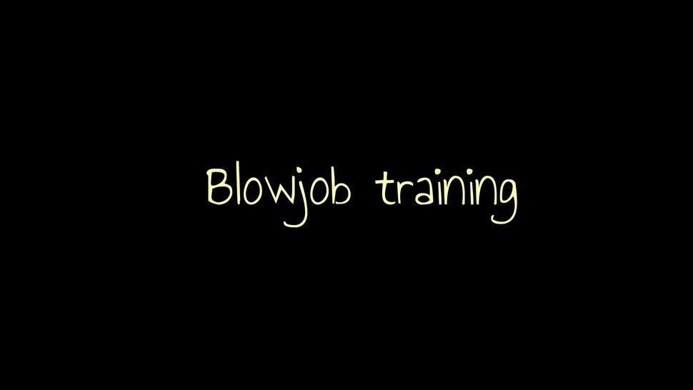 Blowjob Training Sex Slave (BDSM, Submissive, Deepthroat) MyKinkyDope