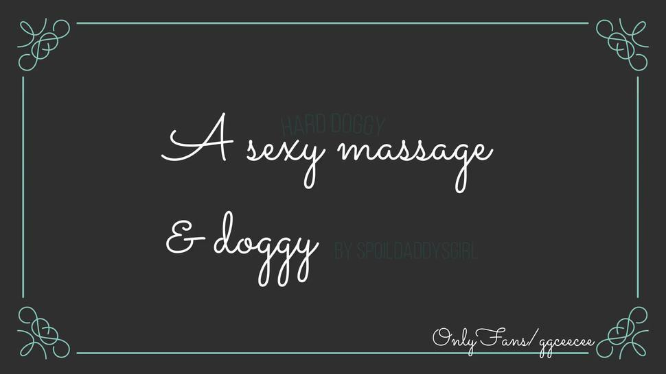 Sexy Back Massage And Rough Doggy Feels So Good