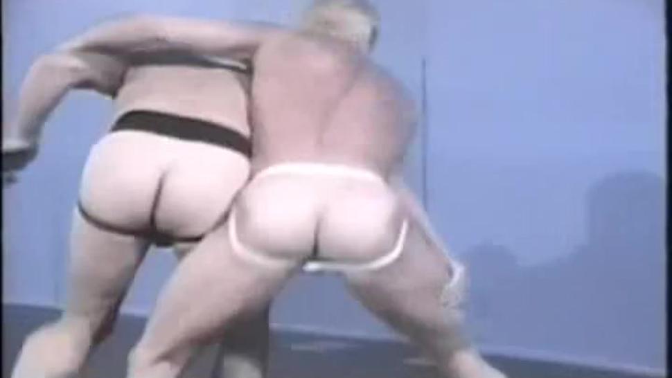 Vintage Gay Erotic Wrestling Ren Adams vs. JT Sloan pt. 1