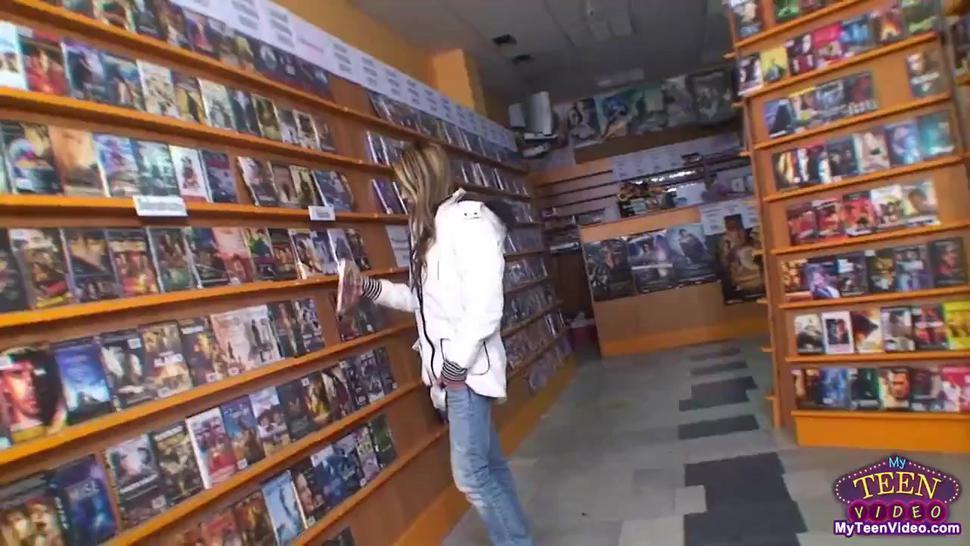 Teen DVD thief