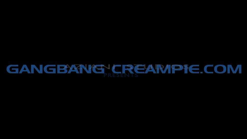 Blonde Gangbang Creampie - TianaLive