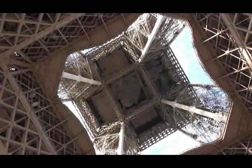 Public - public sex by Eiffel Tower the world landmark