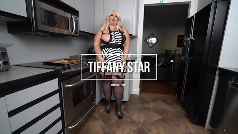 Bbw big ass Tiffany star