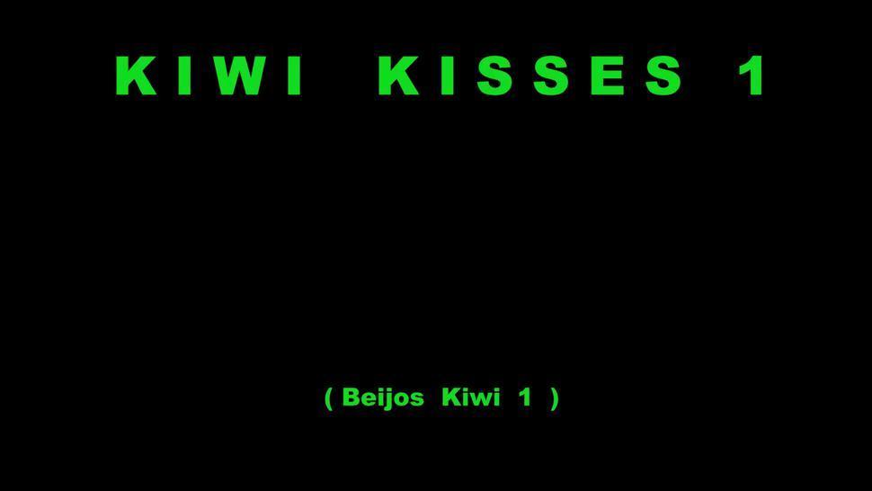 Lohanny Brandao & Jennifer Avila Trans & Girl hot kisses in Kiwi Kisses 1 by LonY Fetiches
