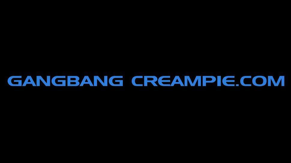 Gangbang+creampie