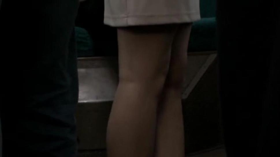Public Sex In A Train