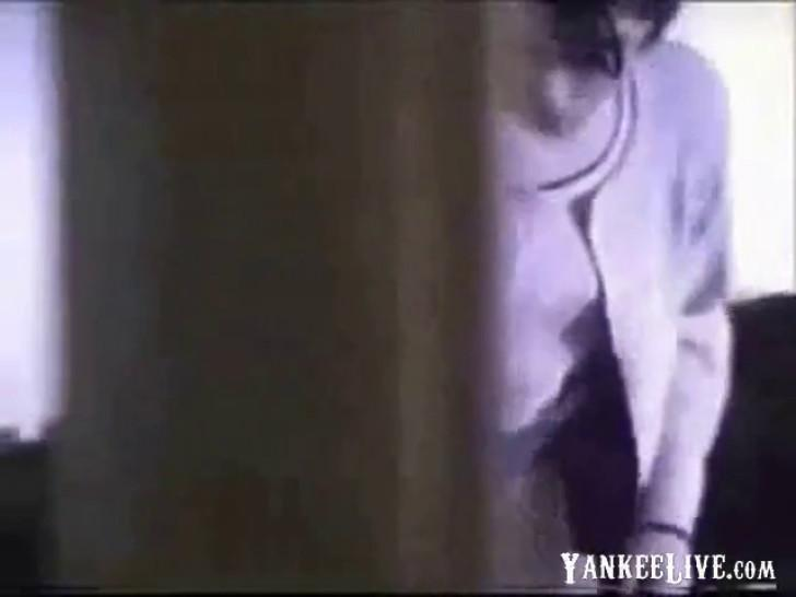 Through window Spying my sister rubbing pussy