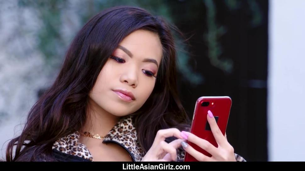 Cute Asian Girl Vina Sky Gets Together With A Guy She Met On A Dating App For An Amazing Fuck