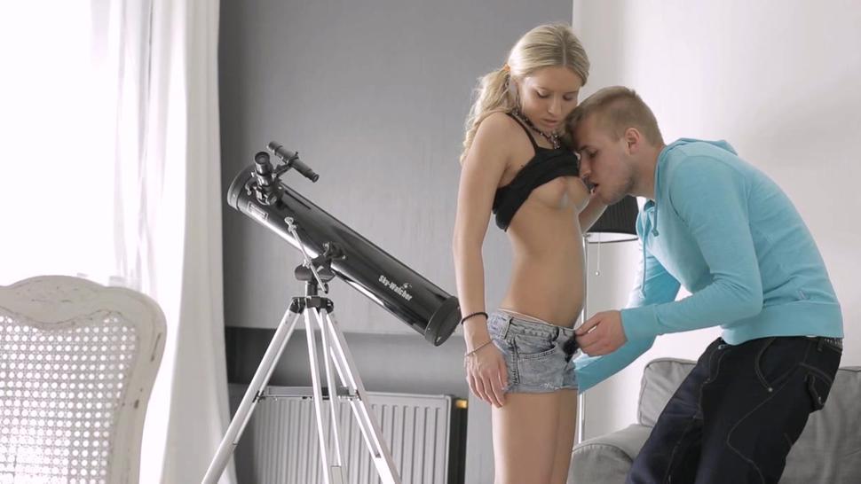 Love rocket riding amazes mouthwatering blonde woman
