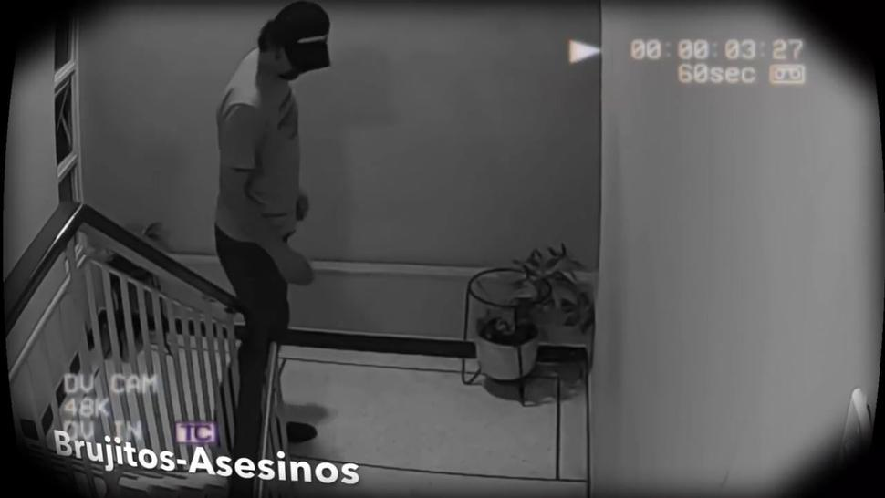 My Stepcousin Is Caught In Security Camera Fucking With Neighbor