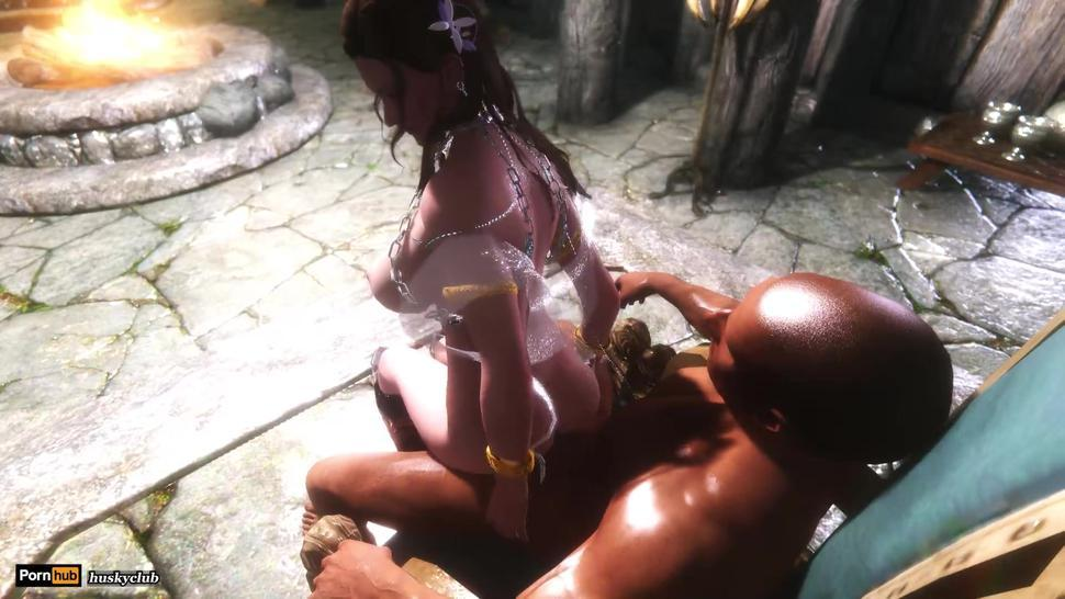 Skyrim Sex Journey - Jane 01 chair sex