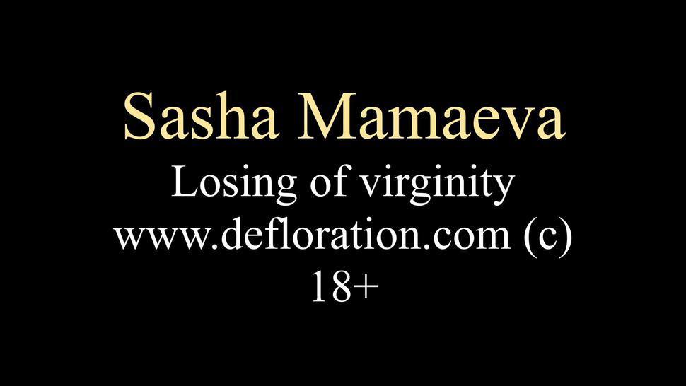 Hardcore Defloration Of Sasha Mamaeva - Barra Brass