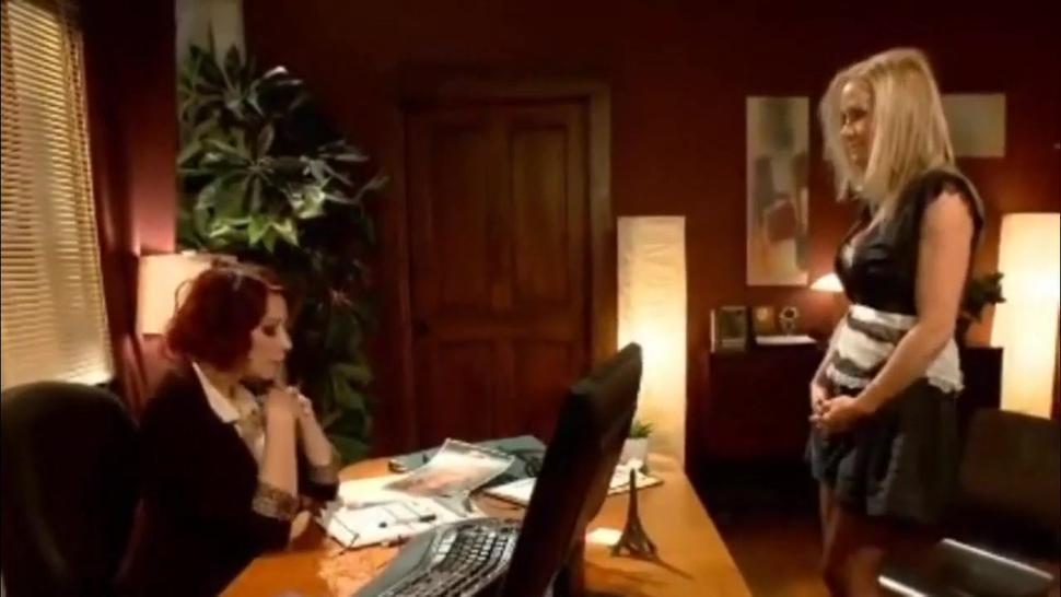 Maitresse Madeline training her new sex maid Simone Sonay