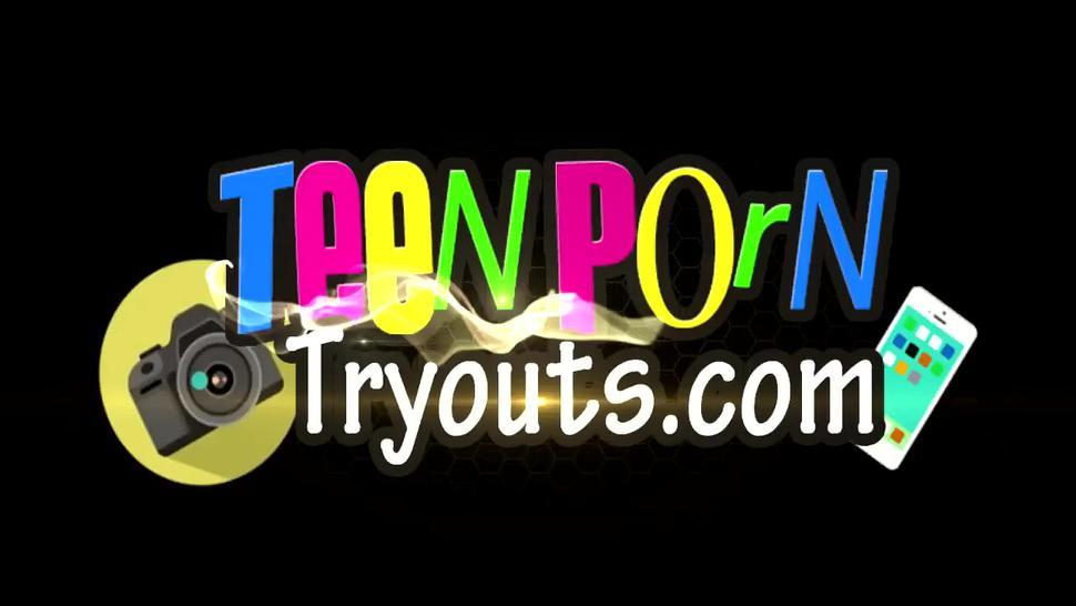 TEEN PORN TRYOUTS - Allie Ray Is A Sweet Babe Seduce Her Lover For Enjoyment