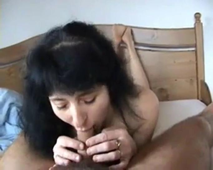 mature footjob - video 1