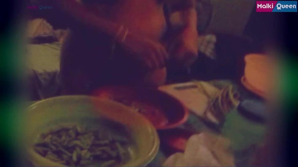Naked Cooking in Hostel (Old Clip Collection)