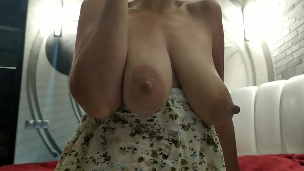 Sexy Milf With Big Natural Boobs Pov