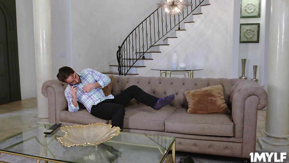 Ryan Keely Enjoying her stepsons young dick deep inside her muff