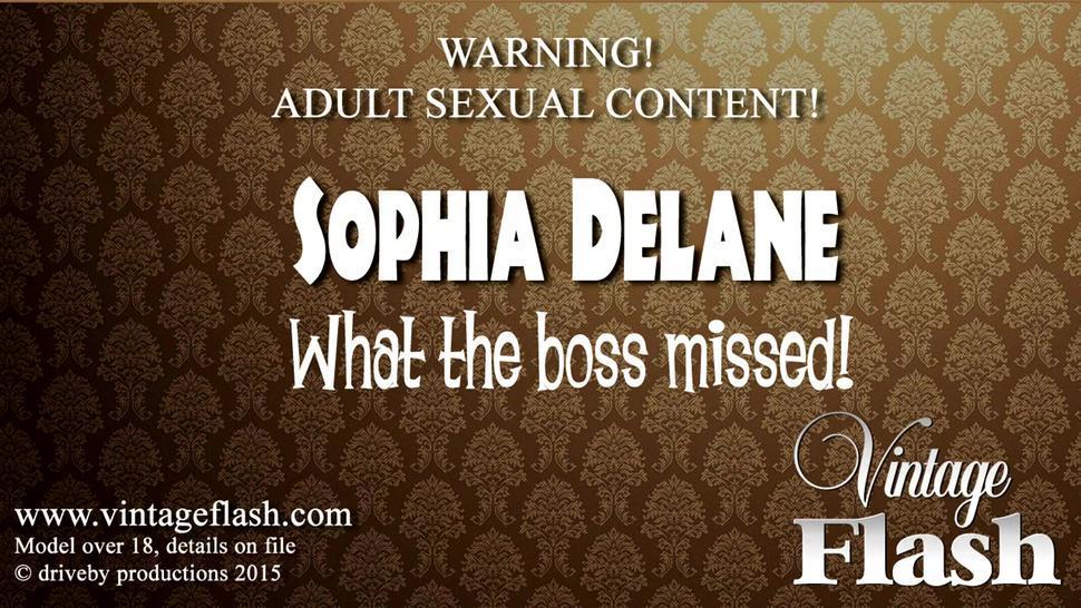 Wet Vagina Under Red Panties - Sophia Delane