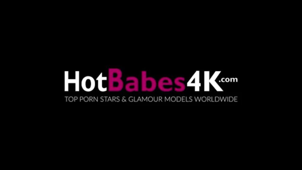 HOT BABES 4K - Busty Blonde Britney Amber Is Fucked By Her Step Dad While Mom Is Away
