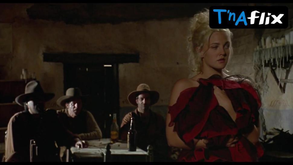 Drew Barrymore Breasts Scene  in Bad Girls