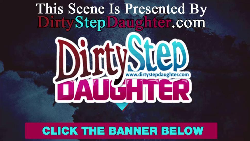 DIRTYSTEPDAUGHTER - Stepdaughter Lynn Love Entices Dad Ron Jeremy To Fuck