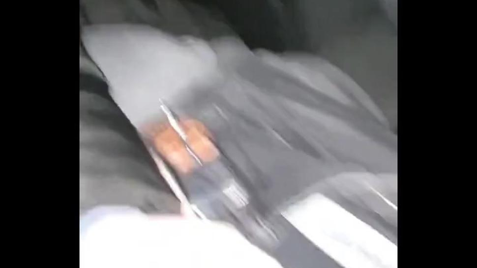 Step mother cum flood from mouth creampie with step son in the car