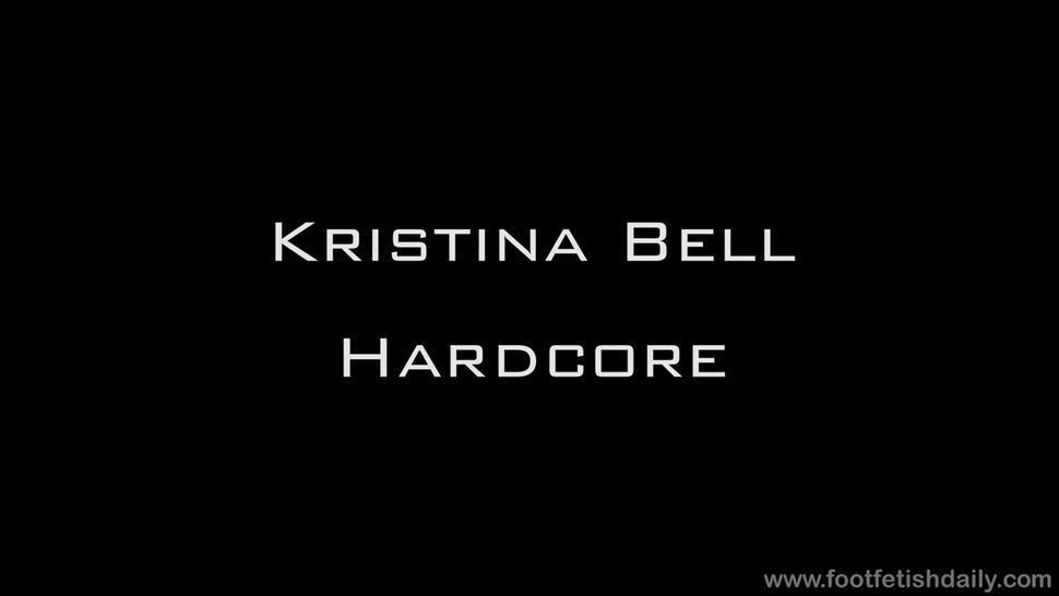 Footsie Babe Fucked Rough - Kristina Bell