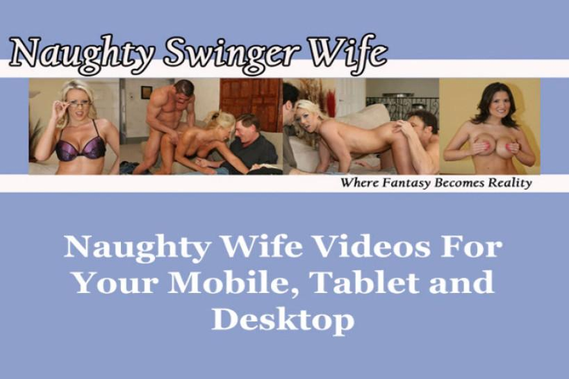 NAUGHTY SWINGER WIFE / FRANKIE BANK - Wife Is Really Naughty For New Cock