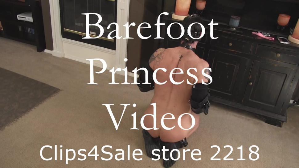 Barefoot Princess Trained Rough