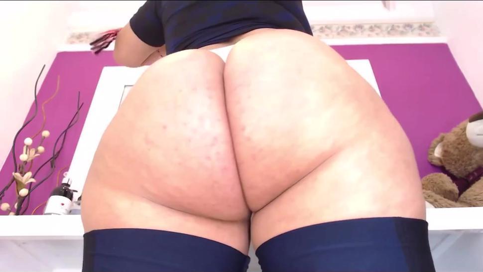 Bbw ass webcam