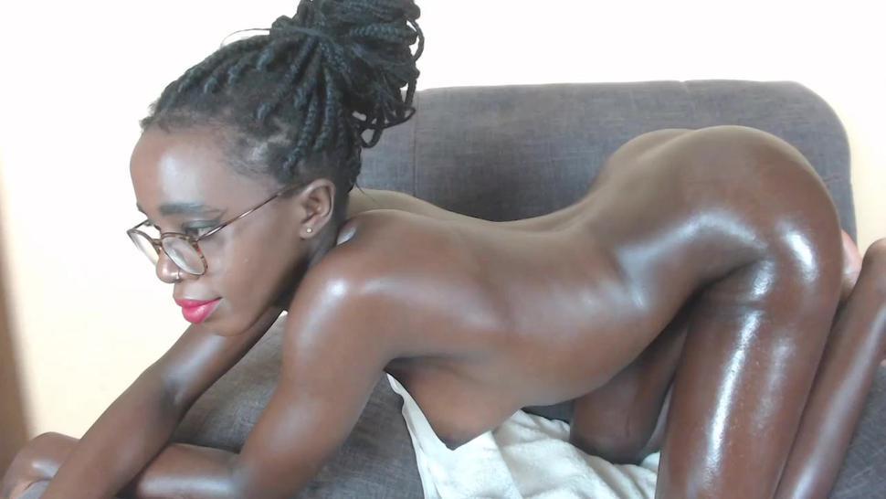 Hot ebony girl