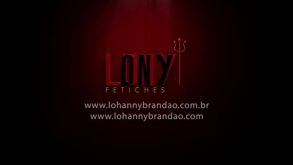 5 brazilian girls + 5 brazilian Tgirls facesit, piss & cum on sub in Lucky Bitch 1 by LonY Fetiches