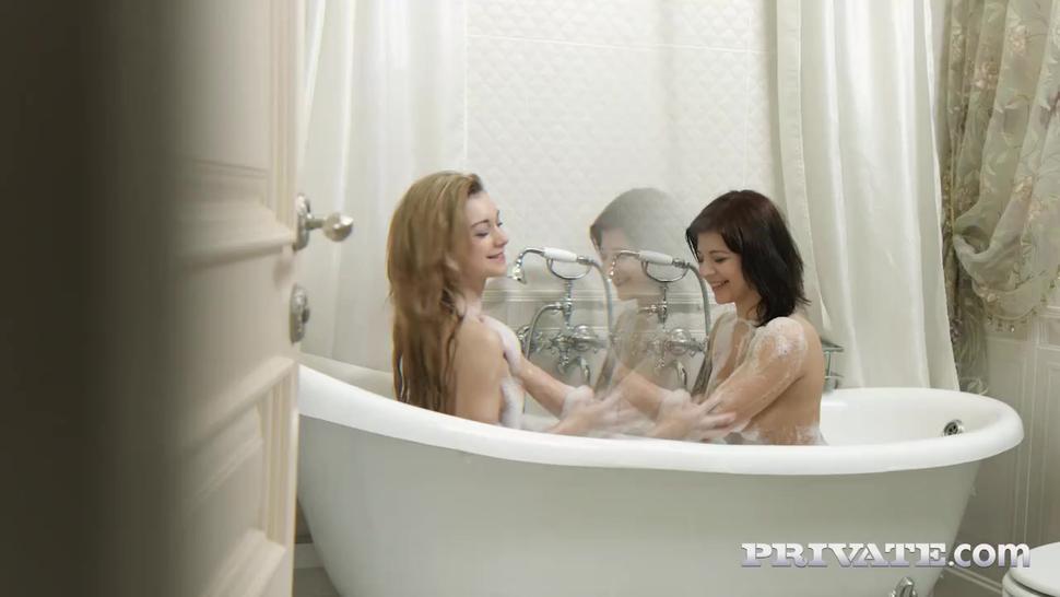 Private.com - Super Sexy Teens Sonia Sweet & Tori Fox Star in Hot Threeway