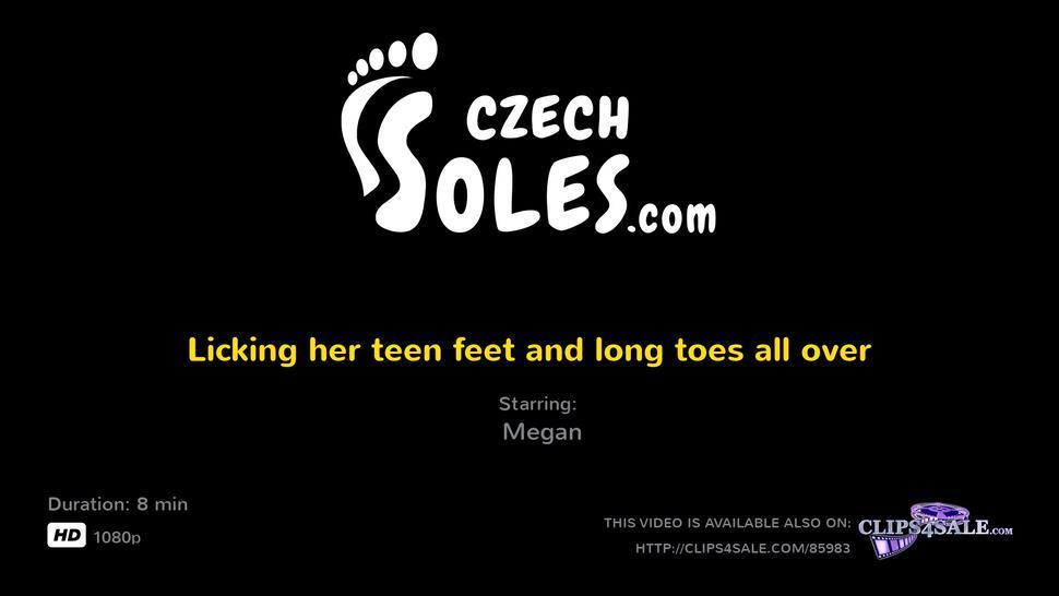 Licking Teen Feet