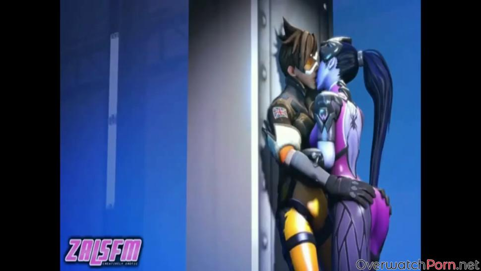 One of the best Widowmaker porn compilations ever made