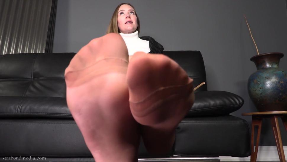 Stocking Sniffing Punishment - Star Nine Foot Domination TRAILER