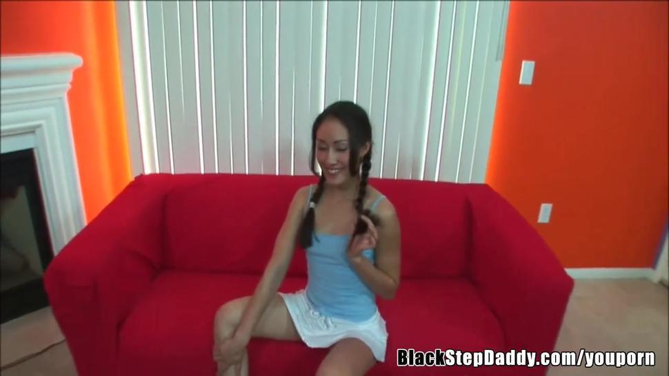 BBC Breeding Young Asian Slut