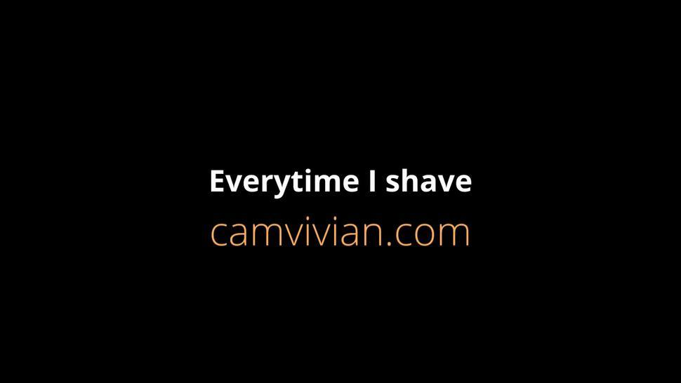 camvivian-every-time-163-partp55.mp4Every time I shave my pussy I get really horny