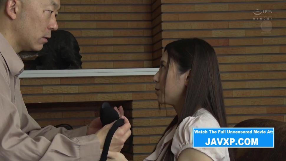 Japanese MILF Fucks Dirty Grandpa