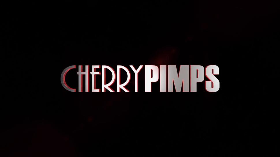 CHERRY PIMPS - Lesbian Action With Natural Babes Lacy Lennon and Jade Baker