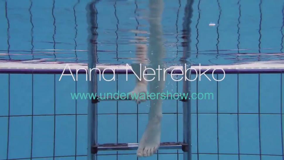 Hairy pussy swimming naked Anna Netrebko